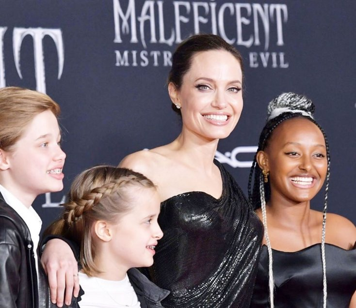 Is Zahara Jolie-Pitt Making Her Mom Proud?! 1