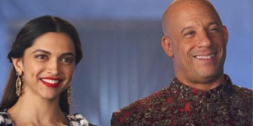 Deepika Padukone and Vin Diesel gets a traditional welcome after landing in Mumbai