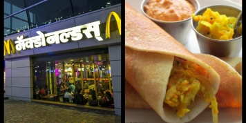McDonald's is launching Masala Dosa Burgers in India?