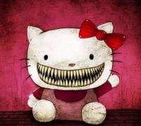 "The true and terrifying story about the origins of ""Hello Kitty"" doll 6"