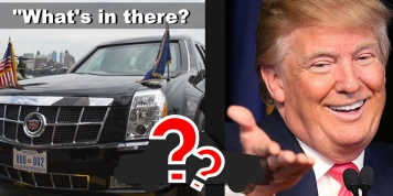 9 Mind-blowing facts about President Trump motorcade