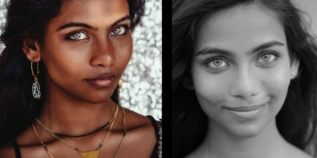 Maldivian Girl with Aqua Blue Eyes found dead in her room!