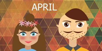 10 Things to expect when in a relationship with an April born